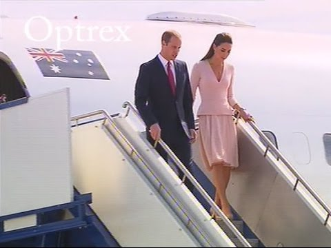 Royals Arrive In Adelaide, South Australia | FULL Arrival Footage