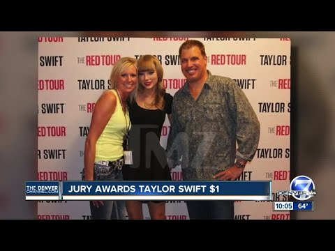 Jury finds Taylor Swift was assaulted and battered by former Denver DJ, awards her $1