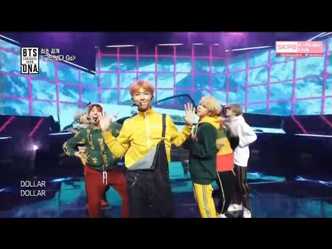 BTS (氚╉儎靻岆厔雼�) - Go Go (瓿犽氤措嫟 Go) (FIRST EVER BTS COMEBACK SHOW)