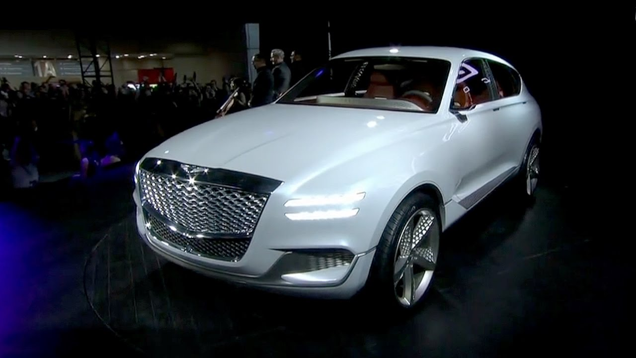 Genesis GV80 Concept Revealed At The New York Auto Show
