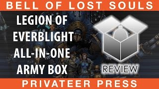 BoLS Unboxing | Legion of Everblight Army All in one | Privateer Press