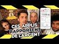 LES 3 APPLIS QUI RAPPORTENT BEAUCOUP D'ARGENT