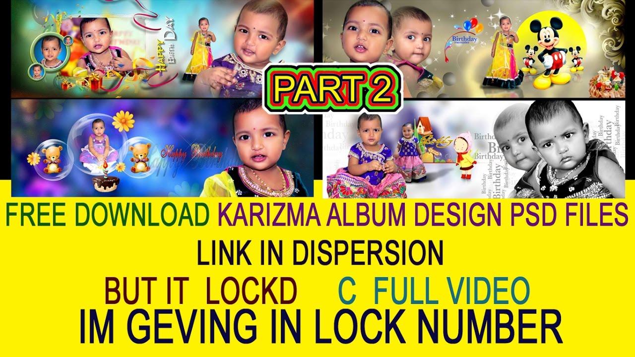 FREE download Karizma Canvera Album Design PSD FILES LINK IN dispersion ss  Desionars