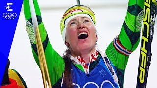 Biathlon | Women's 4x6km Relay Highlights | Pyeongchang 2018 | Eurosport