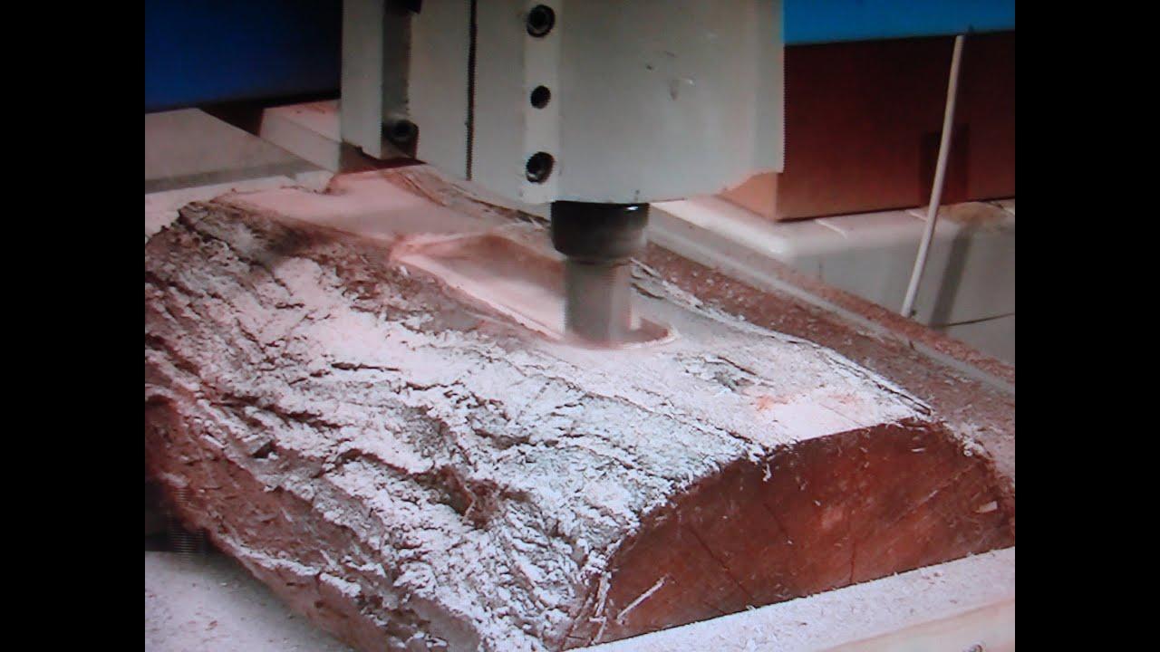 55 Turning A 0 10 Log Into 50 00 3d Art D 233 Cor Cnc