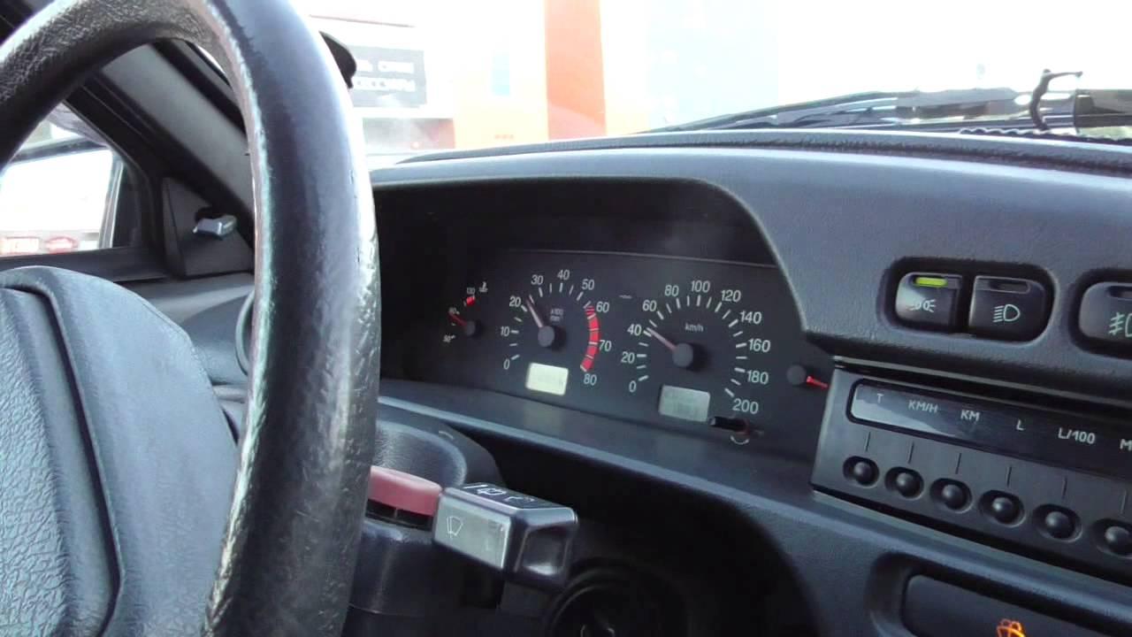 Переключение передач по спидометру автомобиля на механике.