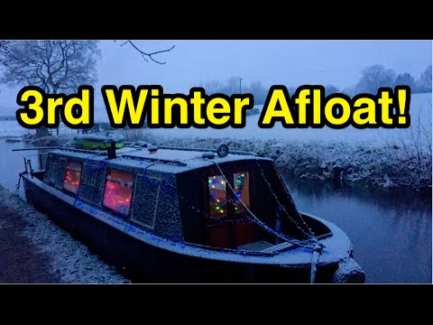 My Third Winter on a Boat!