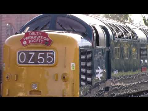 Deltic 40th Anniversary Gala 2017 - Bluebell Railway