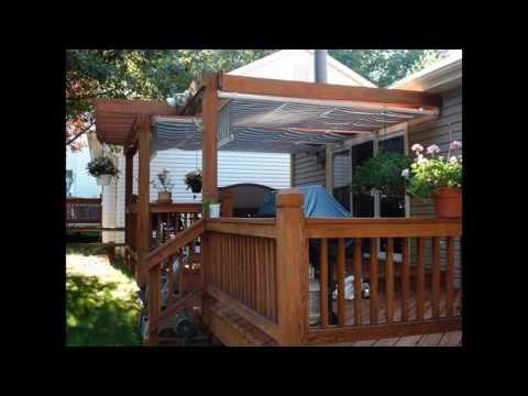 awnings for decks ideas