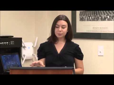 Laurel Fish, 2013 Community Research Summer Internship Forum