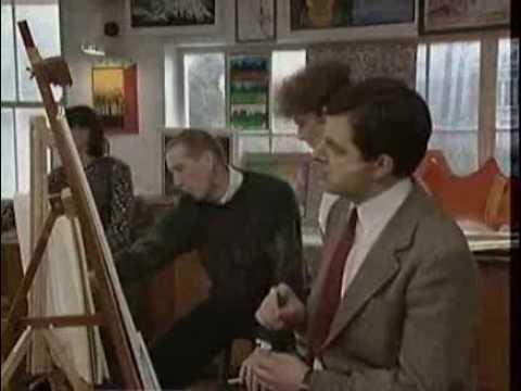 Video Mr. Bean học vẽ