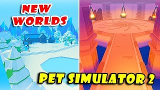 *New* WORLDS Leaked Will Release in PET SIMULATOR 2 !! [Roblox]