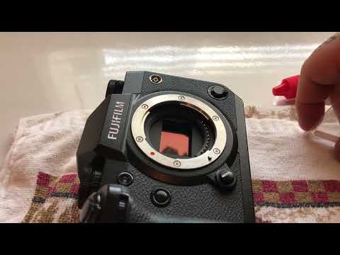 X-H1 Super TIP! 🌀OFFICIAL HOW TO FUJIFILM X-H1 SENSOR CLEANING 🌀