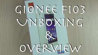 Gionee F103 India Unboxing, Features, Quick Review and Camera Overview