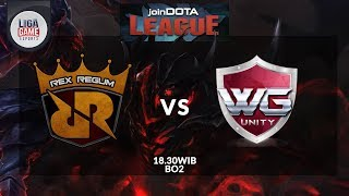 Video [Dota2 Live INA]: Rex Regum Qeon [ID] vs WG.Unity [MY] (BO2) @Join Dota League S11 download MP3, 3GP, MP4, WEBM, AVI, FLV November 2017