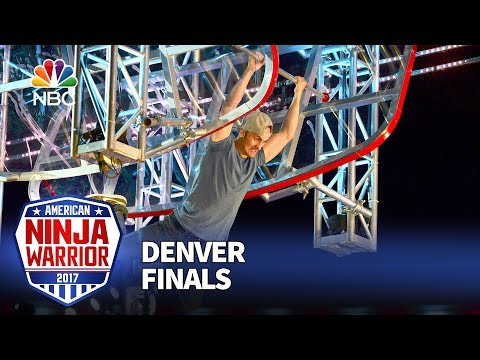 Lorin Ball at the Denver City Finals - American Ninja Warrior 2017