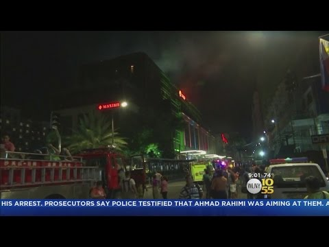 Gunman Storms Manila Hotel And Casino
