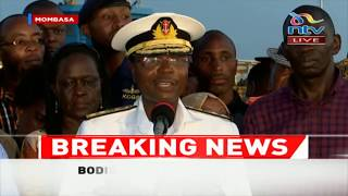 LIKONI FERRY: This was a tough operation, we have learnt lessons - Navy boss
