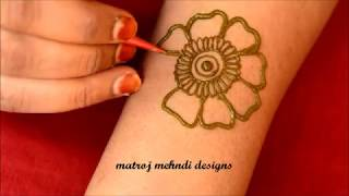 Simple Henna Mehndi Design#Easy Mehndi Designs#Simple Mehndi