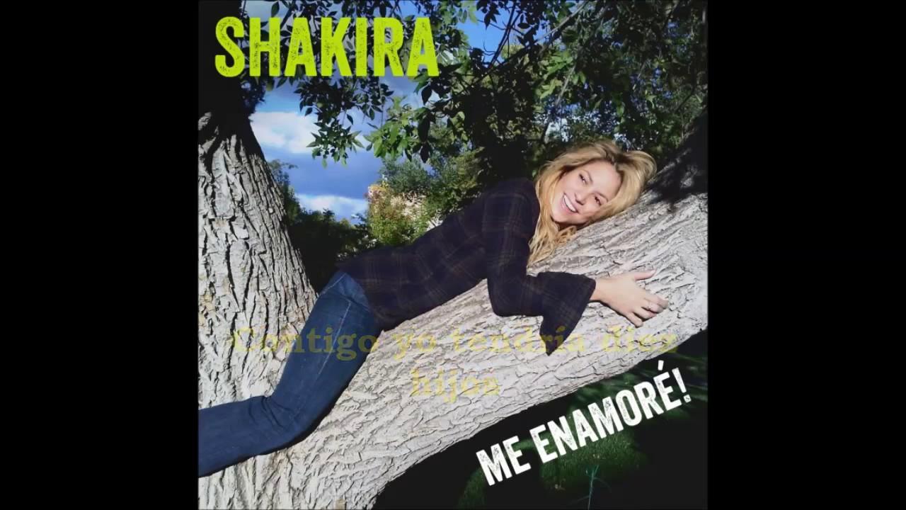 Descargar MP3 de Shakira Me Enamore gratis. BuenTema.Org