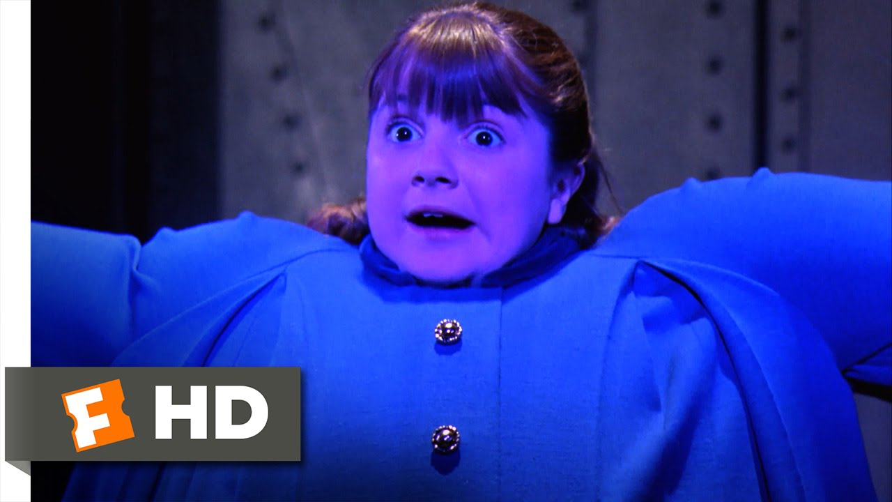 Willy Wonka & the Chocolate Factory - Violet Blows Up Like ...
