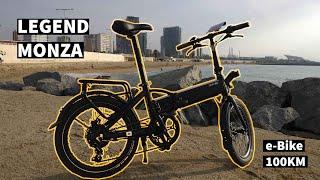 Review Legend Monza - 100 km de e-bike