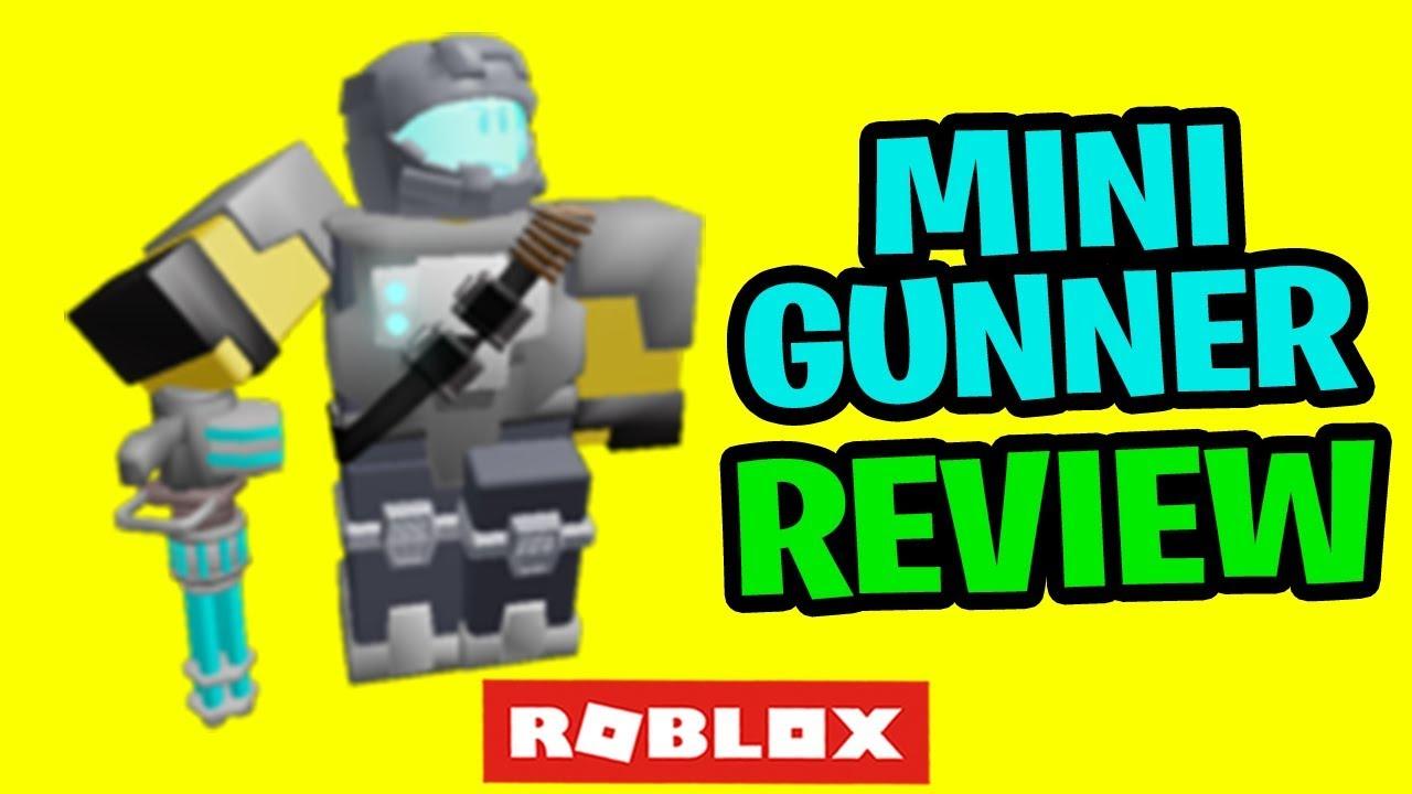 Tower Defense Simulator New Minigunner Review - YouTube