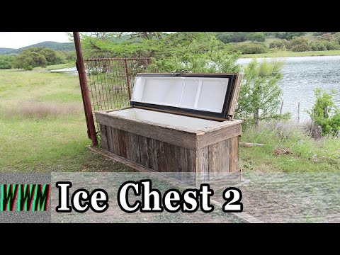Finishing our Ice Chest