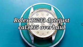 [명품시계수리] 롤렉스 16233 데이저스트 오버홀 (…