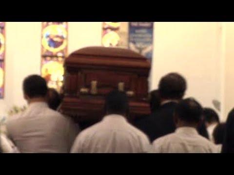 Richard Stanley's funeral