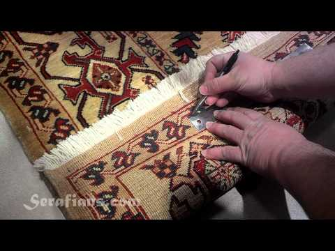 Serafian's Oriental Rugs in Albuquerque, NM | How to Judge Quality in Hand Knotted Oriental Rugs