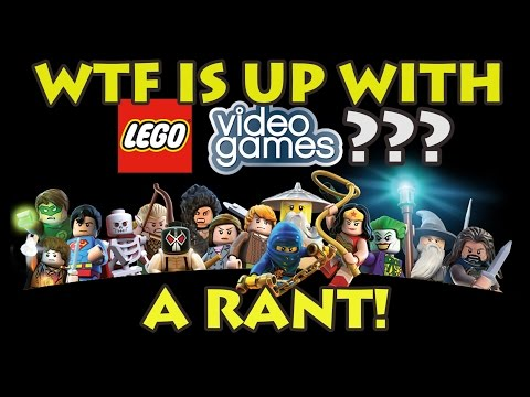 WTF Is Up With LEGO Games?! - A Rant!