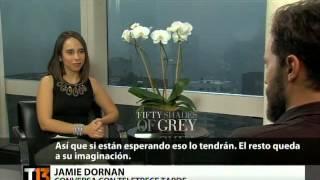 entrevista a jamie dornan y dakota johnson para medio chileno
