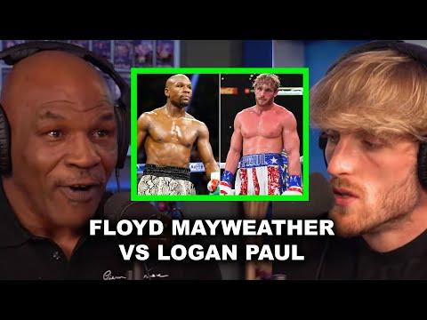 MIKE TYSON SPEAKS ON FLOYD MAYWEATHER VS LOGAN PAUL