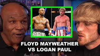 MIKE TYSON SPEAKS ON FLOYD MAYWEATHER VS LOGAN PAUL