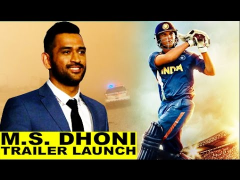 M.S.Dhoni - The Untold Story | Trailer Launch | Sushant Singh Rajput | Neeraj Pandey | Full Event