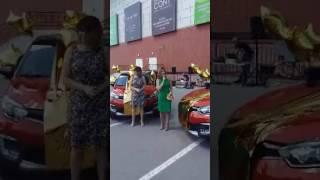 Вручение автомобилей от AVON победителям программы