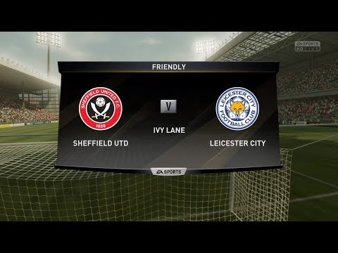 FIFA 17 | SHEFFIELD UNITED VS LEICESTER CITY | EFL Cup | Gameplay PS4