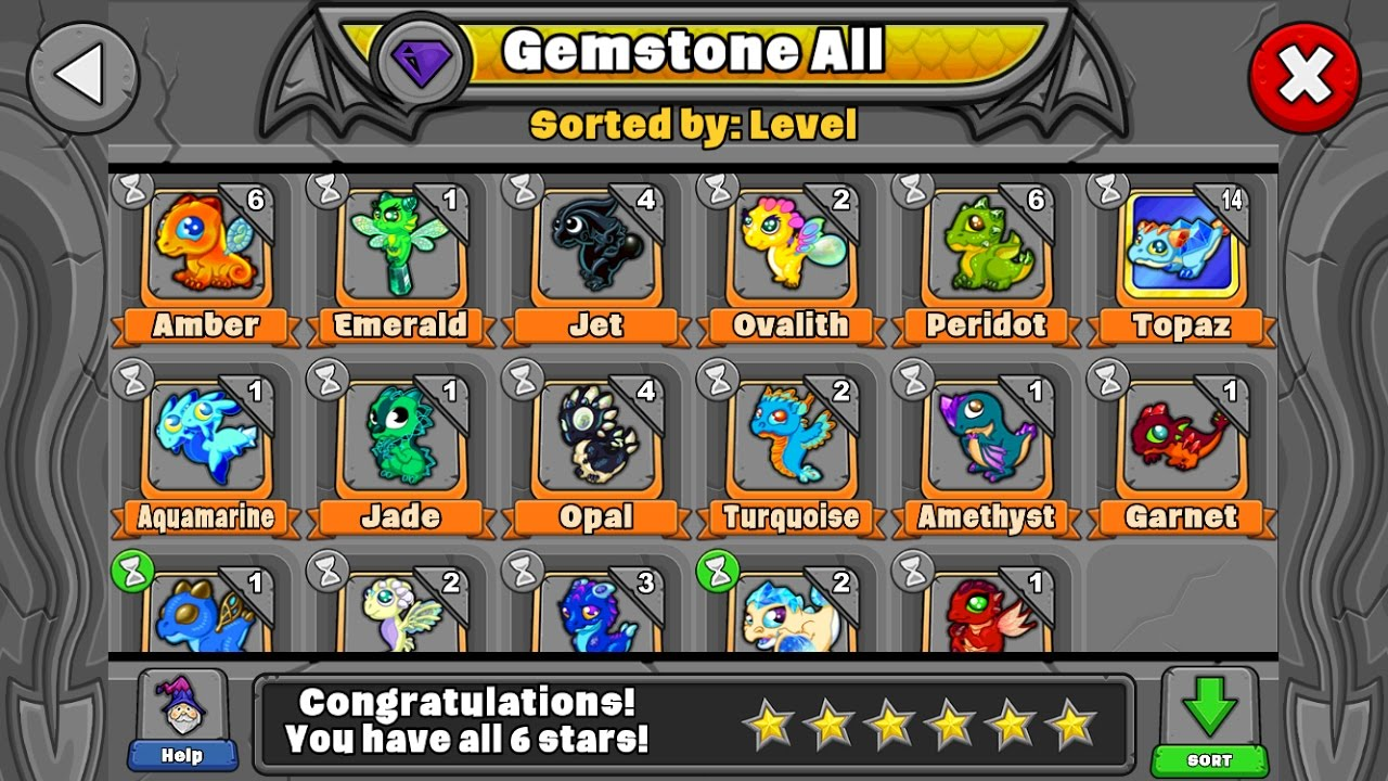 How To Breed All The Gemstone And Crystalline Dragons In