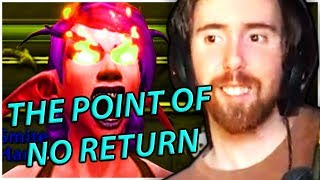 """Asmongold's Reaction to """"THE POINT OF NO RETURN 