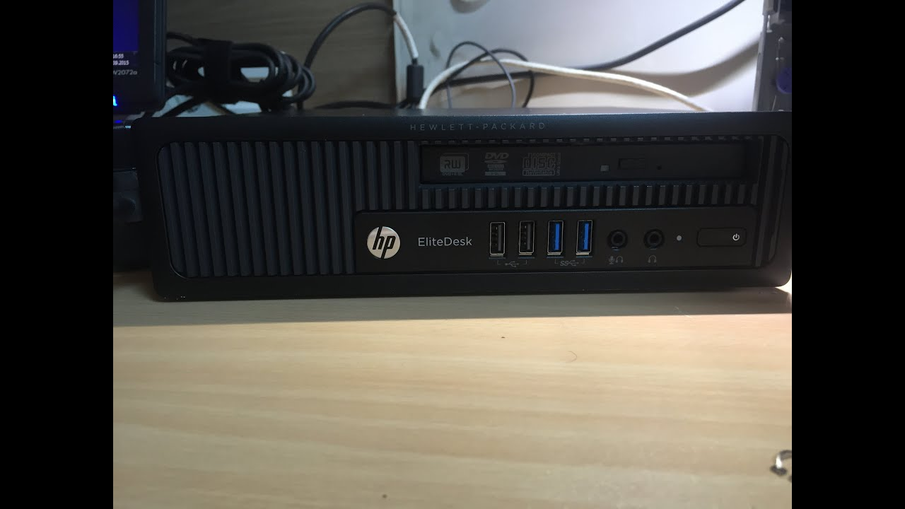HP elitedesk 800 USDT ultra slim mini pc  HP h5t98ea