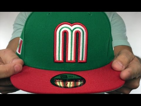 e98d6c5f332 Mexico  PERFORMANCE WBC-2  HOME Hat by New Era - YouTube