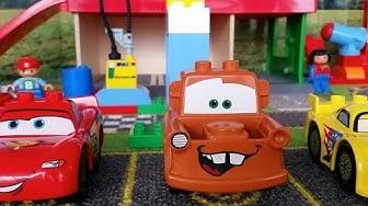 LASTENOHJELMIA SUOMEKSI - LEGO DUPLO autot osa 1