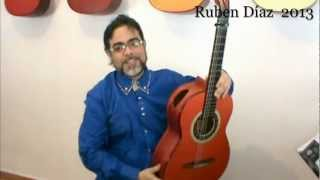 Almoraima Step by Step 1 /Ruben Diaz Andalusian Flamenco Guitar Lessons on Paco de Lucia's Technique