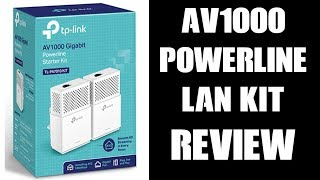 Tp-Link AV1000 Gigabit Powerline LAN Starter Kit Review (Multiplayer Gaming) TL-PA7010KIT