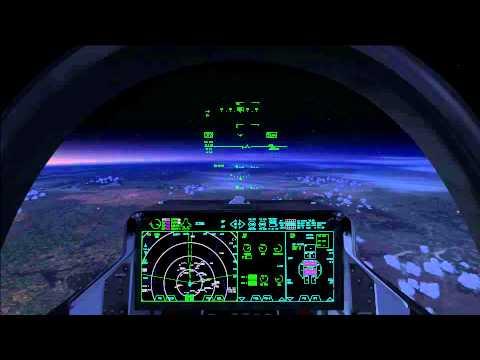 Culdrose to Kinross - F35B Lightning II FSX