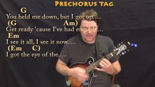 Roar (Katy Perry) Mandolin Cover Lesson with Chords/Lyrics - Capo 3rd