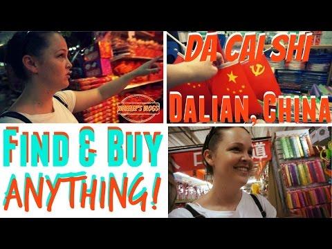 DaiCaiShi | A BIG Chinese Market | Dalian, China | Wheelee's Travels