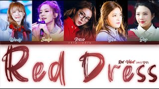 "Red Velvet (레드벨벳) - ""Red Dress"" (Color Coded Han