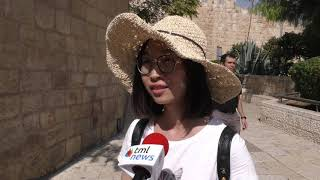 Israel's Holy Sites, History Draw Record Number Of Chinese Tourists